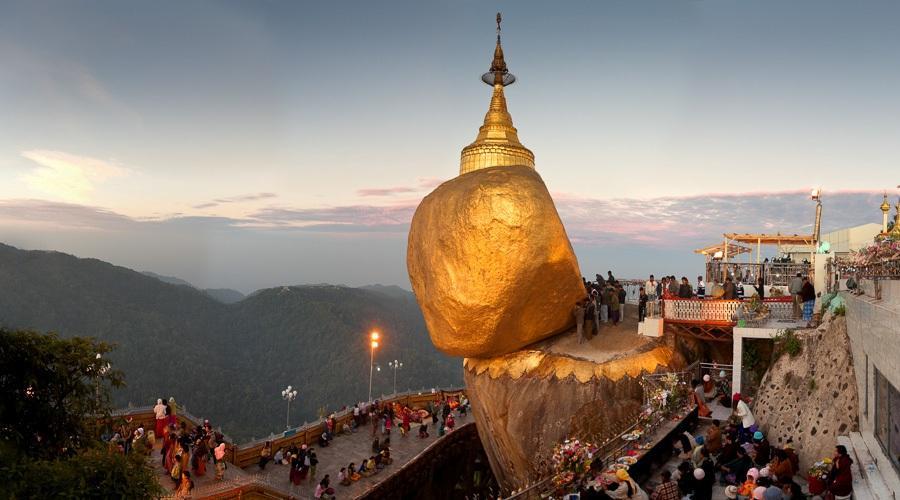 Чайттийо в Янгоне