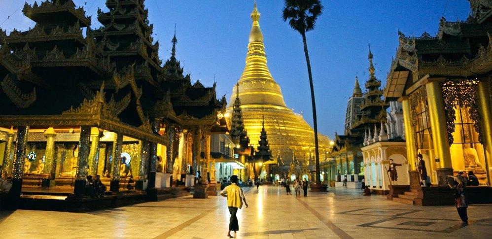 Пагода в Янгоне