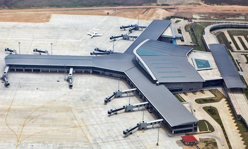 Ааэропорт Мьянмы в Нейпьидо