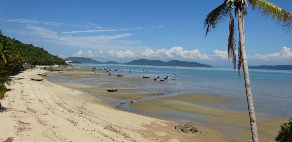 Мьянма пляж Давэй