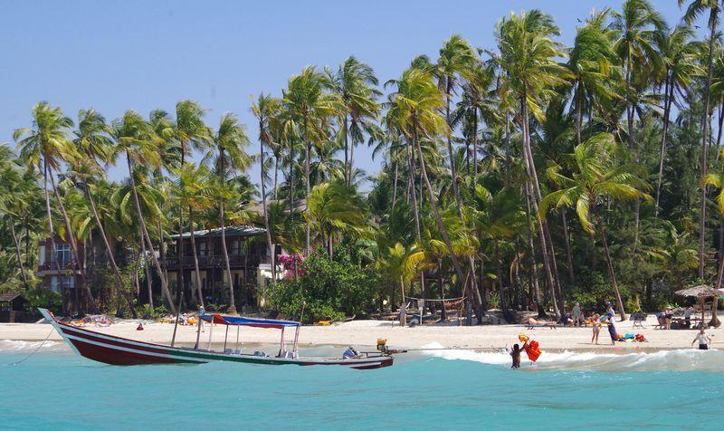 Курорт Нгапали Мьянма
