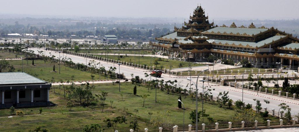 нейпьидо столица Мьянмы