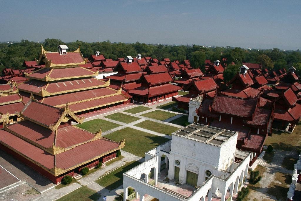 Мандалай Комплекс королевского дворца