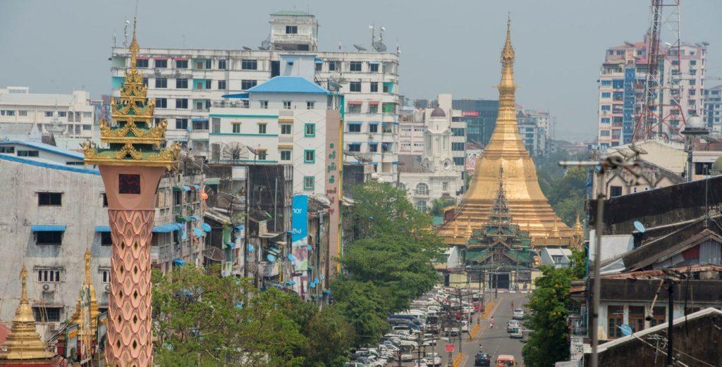 Пагода Суле Мьянма