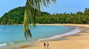 Пляж Мьянмы Нгапали