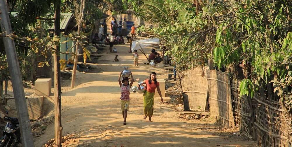 Этнографический туризм в Мьянме