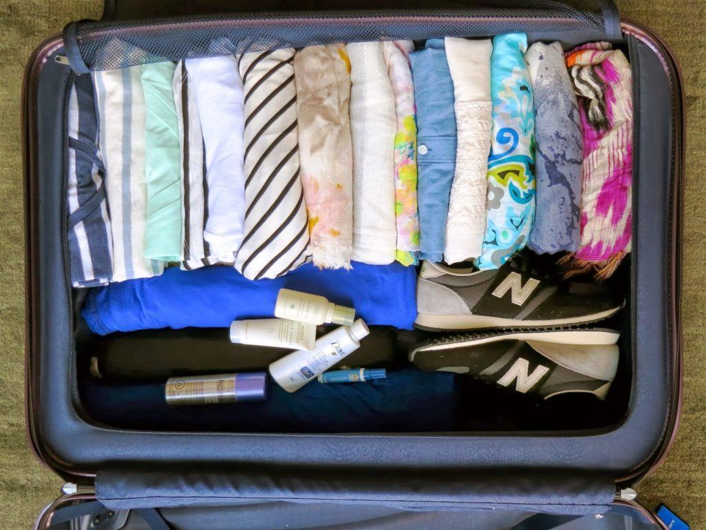 как компактно собрать чемодан
