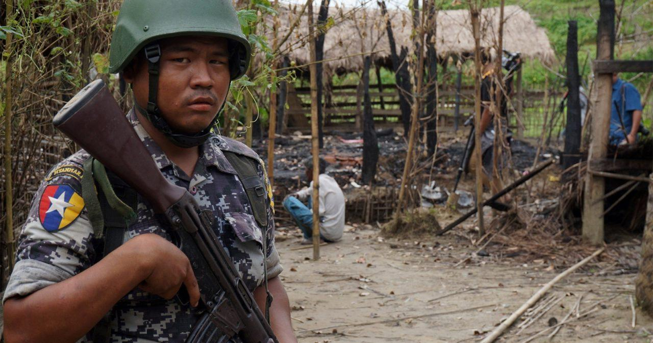 Солдат Мьянмы