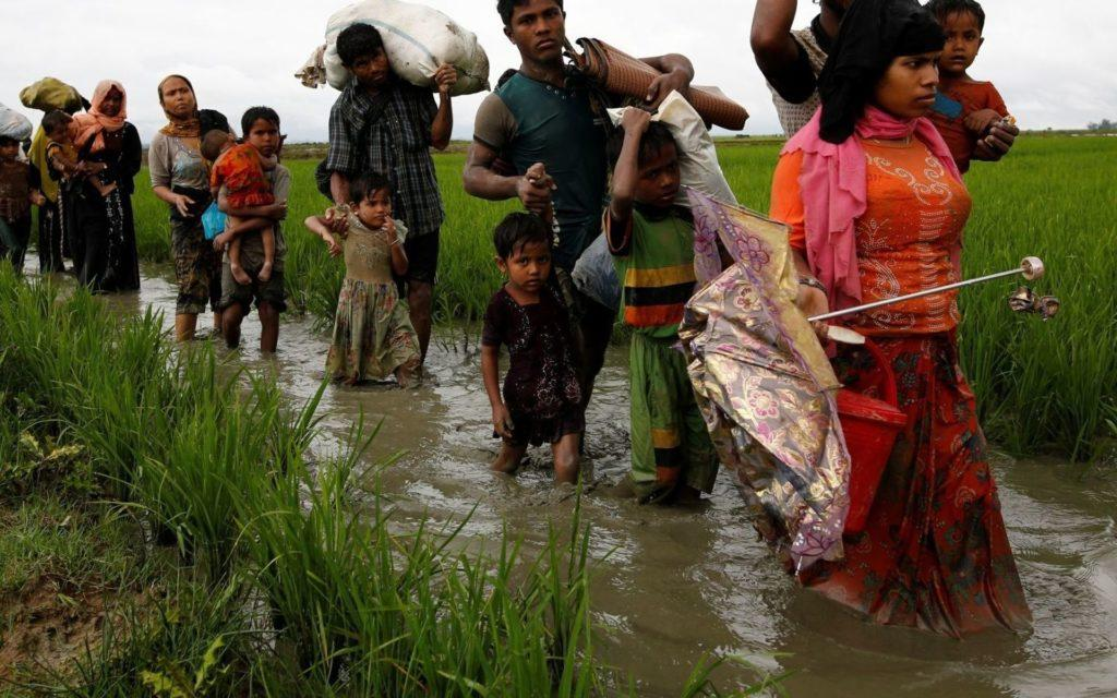 Мусульмане беженцы в Мьянме