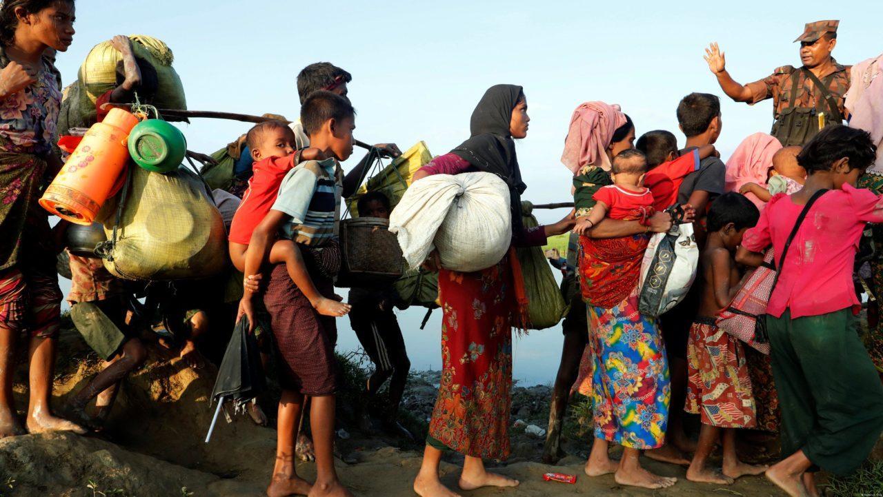 Изгнание рохинджа в Мьянме