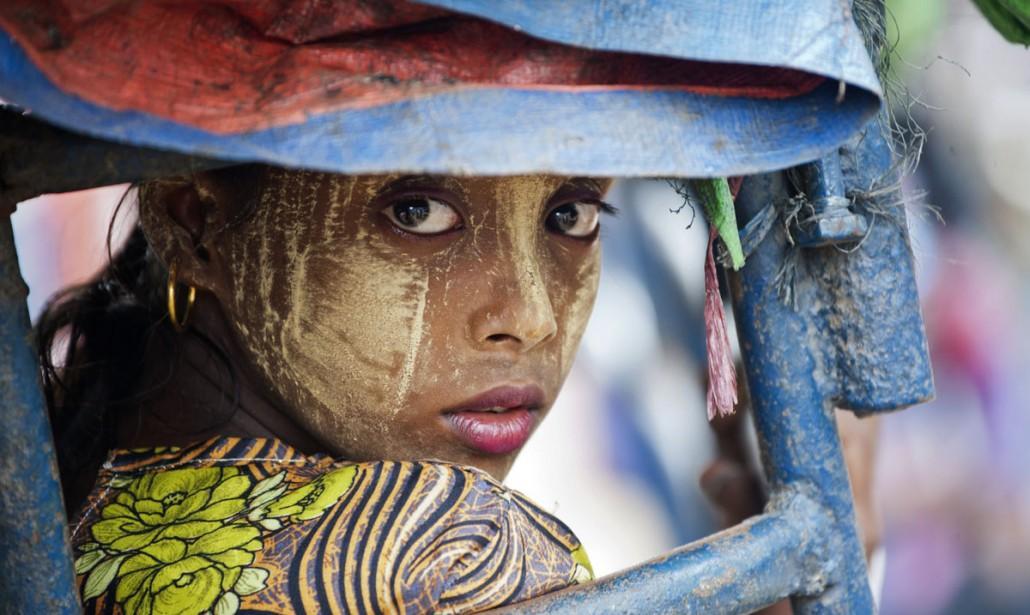 Девочка рохинджа Мьянма